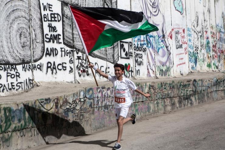 Palestine Marathon, Bethlehem, West Bank, 23.3.2018